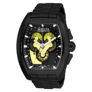【送料無料】invicta mens reserve quartz stainless steel watch 27055