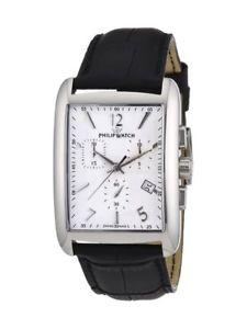 【送料無料】orologio uomo,philip watch,cronografo,trafalgar,r8271674001,pelle,swiss made eta