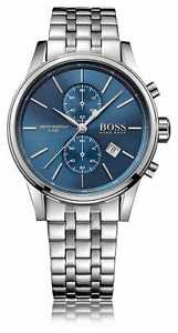【送料無料】hugo boss mens jet chrono stainless steel bracelet 1513384 watch 39