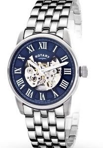 rotary gents automatic skeleton watch  gb0040005