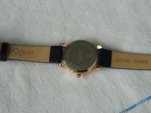 clogau navy butterfly wrist watch rrp 33000
