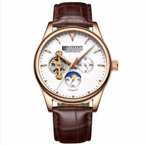 barkers of kensington luxury mens automatic wrist watch