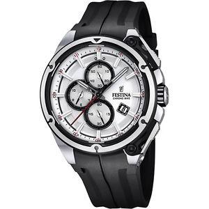 orologio festina chrono bike 2015 uomo cronografo bianco  f168821