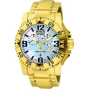 【送料無料】invicta reserve 6257 stainless steel chronograph watch