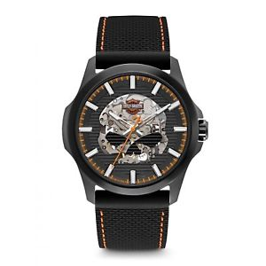 harley davidson 78a118 mens automatic wristwatch
