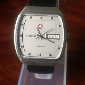 【送料無料】rado voyager uhr stahl automatik klassische uhr steel watch