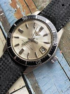 【送料無料】sheffield automatic mens vintage diver watch 36,2mm