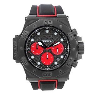 【送料無料】invicta akula 23107 silicone chronograph watch