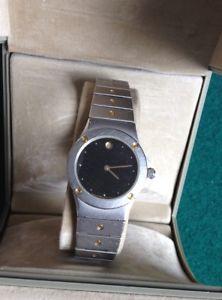 【送料無料】zenith pacific quartz lady stainless steel watch, vintage