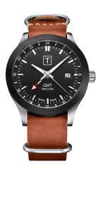 【送料無料】twatches gmt edition dual timezone watch