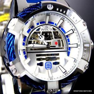 【送料無料】invicta star wars bolt r2d2 stainless steel nh70 automatic limited ed watch