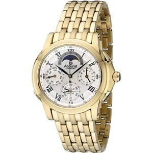 【送料無料】 accurist gents gmt chronograph watch gmt120p