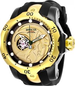 【送料無料】 invicta marvel mens 537mm limited edition automatic open heart watch nwt