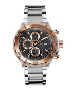 【送料無料】guess collection chronograph men watch gc bold rose gold steel x56008g2s swiss