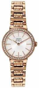 rotary womens les originales gold plate crystal lb9008502 watch  36