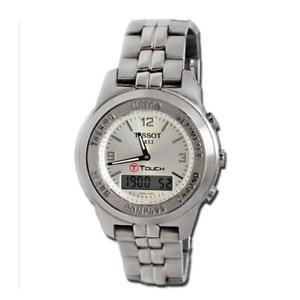 【送料無料】orologio analogico digitale tissot 1853 ttouch cassa cinturino titanio z254