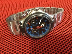 orologio vintage momo design speed md014 luiz garcia jr  proto indy cart chrono