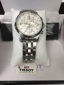 【送料無料】brand tissot t17158632 prc200 chronograph watch