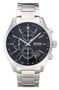 【送料無料】 hugo boss hb 1513477 mens grand prix chronograph watch 2 years warranty