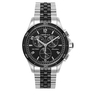 【送料無料】certina ds first lady chronograph womens quartz watch c0302171105700