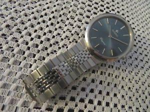 mens vintage rado elegance swiss made manual wind wristwatch