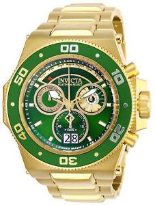【送料無料】26051 invicta 557mm mens akula reserve goldtone stainless steel watch
