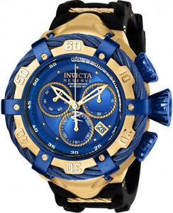 invicta mens bolt reserve chrono 500m stainless steel  silicone watch 21354