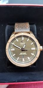 vostokeurope almaz space station bronze automatic nh35a320o516 limited edition