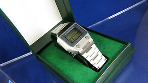 【送料無料】vintage swiss guarda val quartz lcd digital watch 1970s boxed very rare