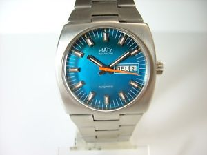 maty besancon france montre automatique vintage annees 1970 fe 5612 old watch