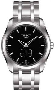 【送料無料】brand tissot couturier secret date mens quartz luxury watch t0354461105101