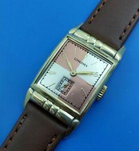 【送料無料】vintage 1940 mans longines hand winding fully serviced w warranty