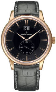 【送料無料】claude bernard sophisticated classics big date 64005 357r gir