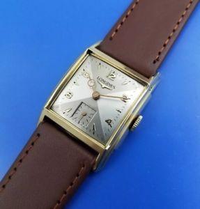 【送料無料】vintage 1945 mans longines hand winding fully serviced warranty