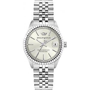orologio philip watch caribe r8253597543 donna watch swiss 35 mm silver nuovo