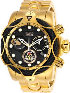 【送料無料】invicta mens reserve quartz chronograph gold plated stainless steel watch 26654