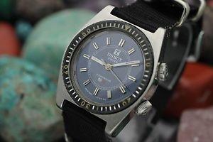 【送料無料】vintage tissot sonorous pr516 alarm stainless steel diver watch