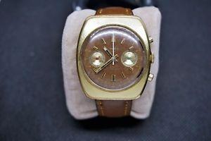 【送料無料】vintage early 70s rare emilia 2001s 38mm 2 register cronograph valjoux cal7733