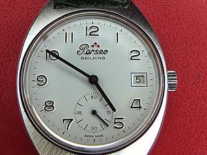 【送料無料】orologio polso uomo perseo railking anni 70 fondo di magazzino nos
