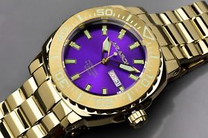 【送料無料】aragon a155pur parma automatic ip gold