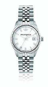 【送料無料】orologio philip watch caribe r8253597515 donna watch swiss 35 mm bianco nuovo