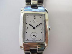【送料無料】baume amp; mercier hampton quartz watch