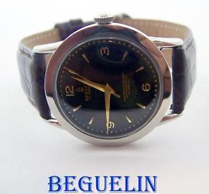 【送料無料】vintage beguelin 17j winding watch c1950s* exlnt condition serviced