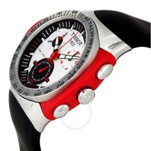 tissot mens t0104171703101 tsport ttracx chronograph watch  100 authentic