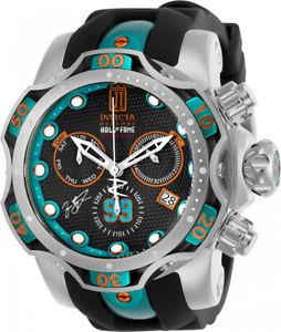 【送料無料】invicta mens jason taylor chrono 1000m s steel siliconemetal watch 25305