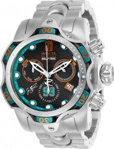 【送料無料】invicta mens jason taylor chrono 1000m stainless steel watch 25303