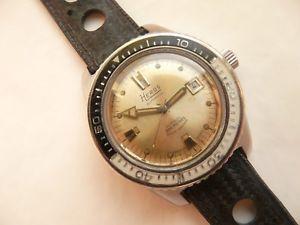 【送料無料】vintage montre de plonge heros 300m