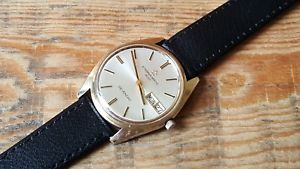 【送料無料】gents stainless steel amp; gold plated day date eternamatic 3000 sevenday