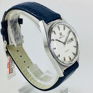 orologio zenith daydate in acciaio a carica automatica  revisionato