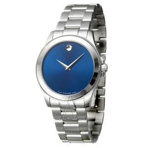 【送料無料】movado mens quartz watch 0606116
